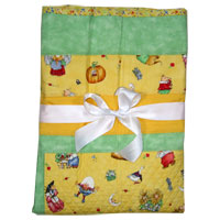 Mother Goose on Parade Baby Quilt